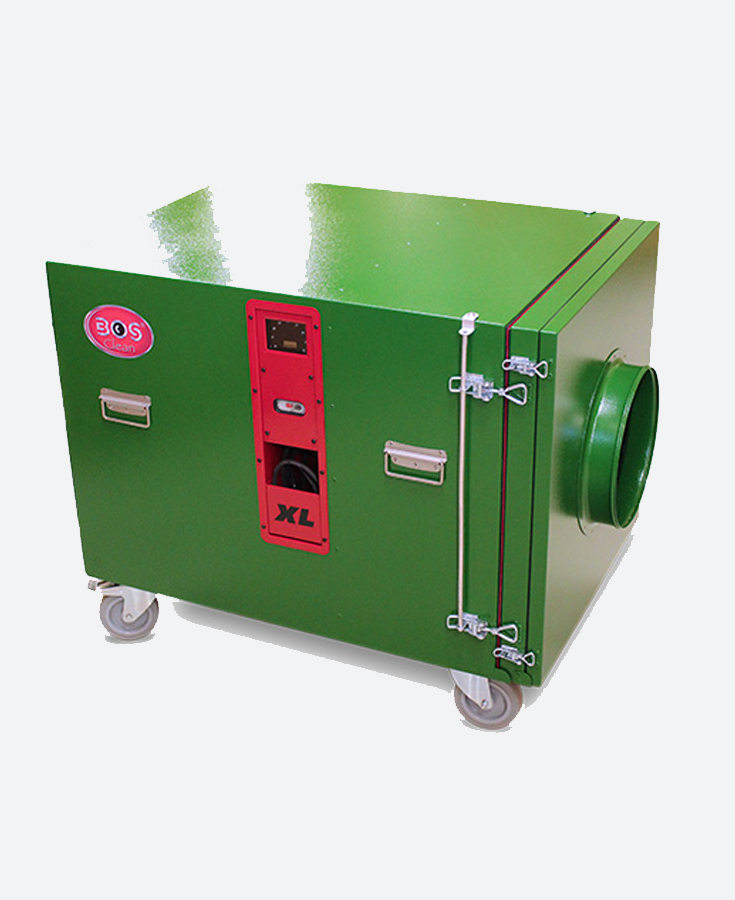 BOS CLEANTEC Extra Large Negative Air Machine