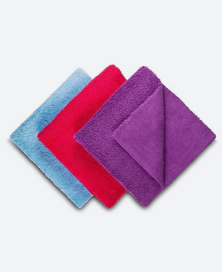 DRY MONSTER Long/Short Microfiber Towels 520gsm
