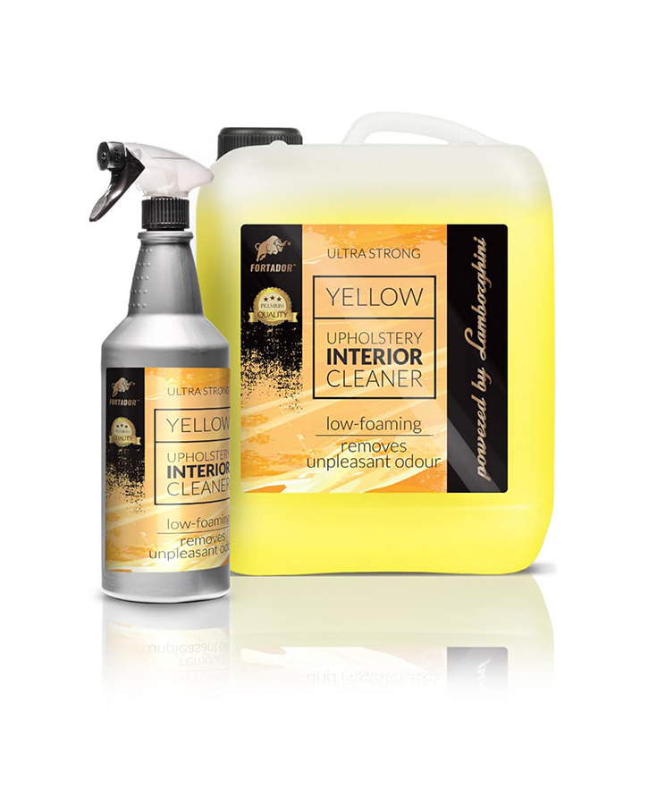 FORTADOR Yellow Interior Cleaner